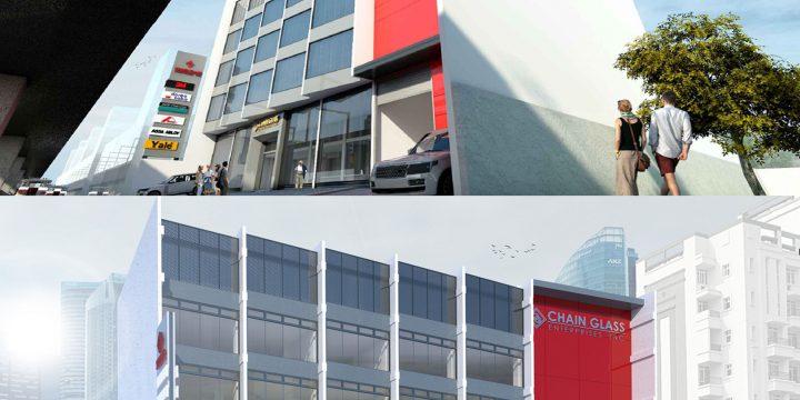 Chain Glass Enterprises Office Building